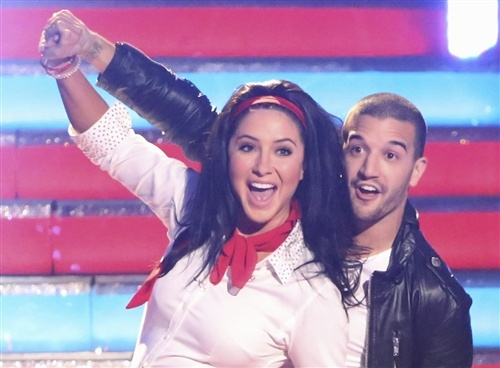 """""""Dancing"""" pro Mark Ballas talks Bristol: """"You can drag a horse to water ..."""" http://on.today.com/V9ENEe (Photo: ABC) #DWTS"""