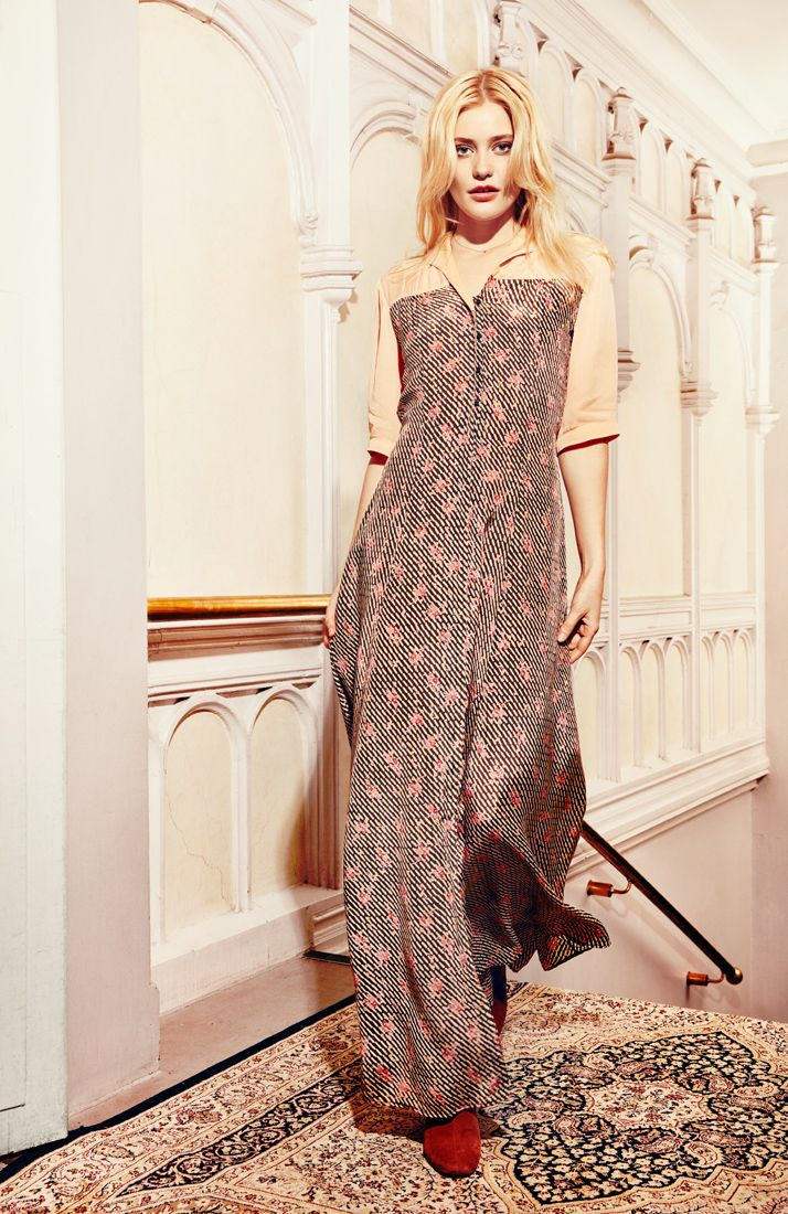 #fashIon #bytimo #ti-mo #vintage #romantic #clothes #norwegian #style #bohemian #spring #summer #webshop #shop #instagram #pattern #embroidery #flowers #lace #lookbook #clothes #model #maxidress #pink