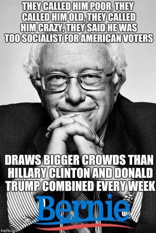People are really FeelingtheBern! - Democratic Underground