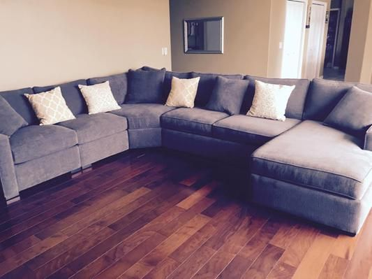 Radley 5-Piece Fabric Chaise Sectional Sofa - 15 Best Images About Media/game Room On Pinterest Shops, Track