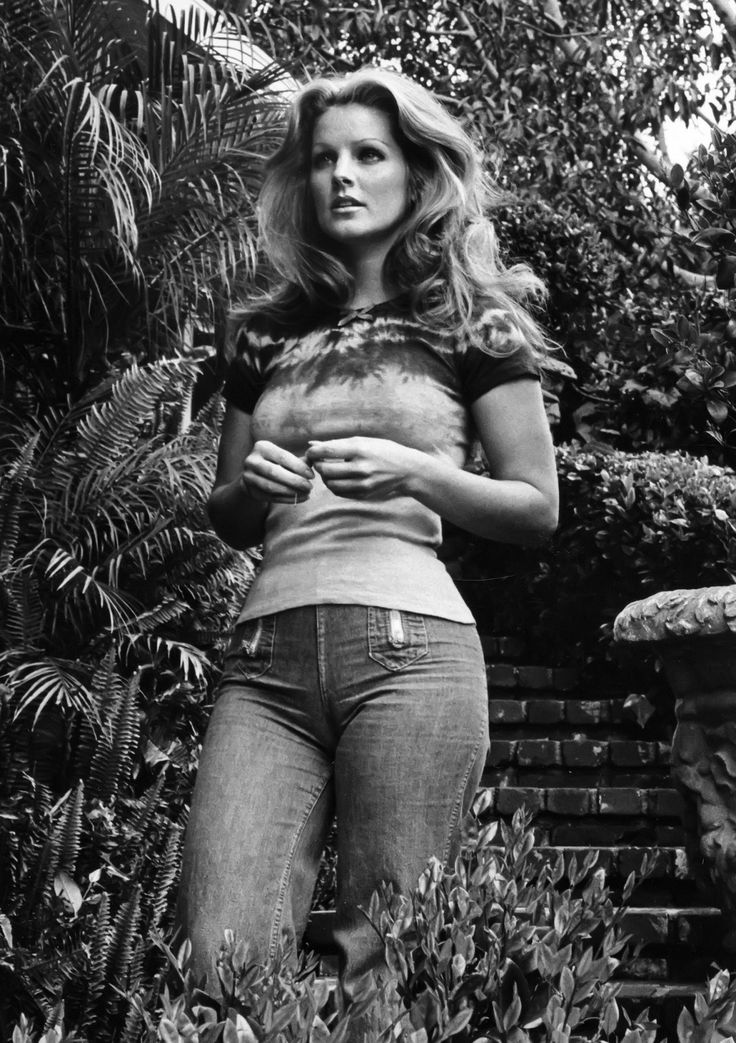 Priscilla Presley (1975), well all I can say is, Elvis was a lucky man!