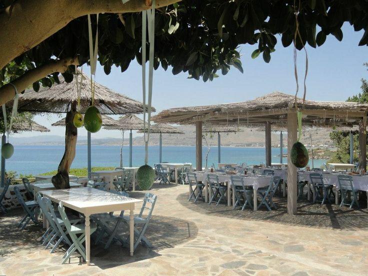 Easter 2013. PHILOSOPHIA Restaurant, Pefkos, Rhodes.