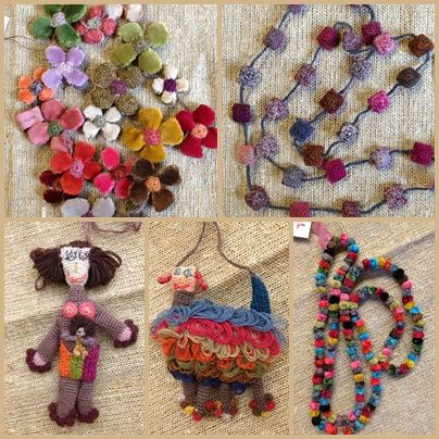 More gorgeous things at l'uccello: Sophie Digard Delivery