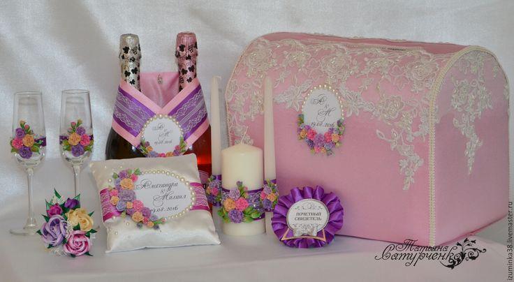 Купить Свадебные аксессуары Свадебные свечи или заказать в интернет-магазине на…