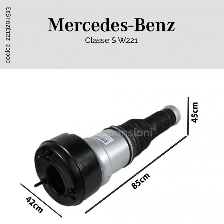 Sospensione ad aria Mercedes-Benz Classe S W221 anteriore destro/sinistro