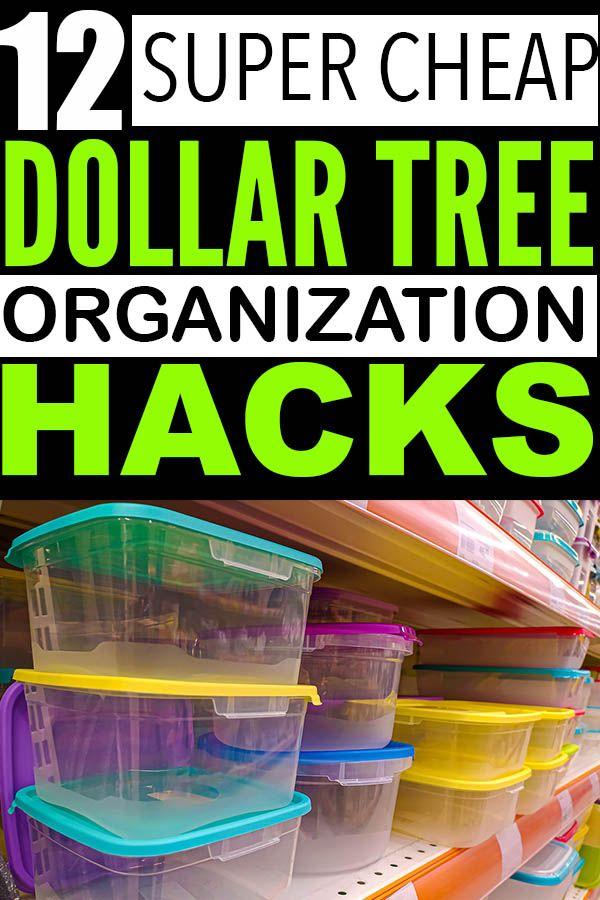 Genius Dollar Store Organization Hacks For Cheap Ways To Keep Your Home Organized Dollar Store Organizing Dollar Tree Organization Dollar Store Hacks