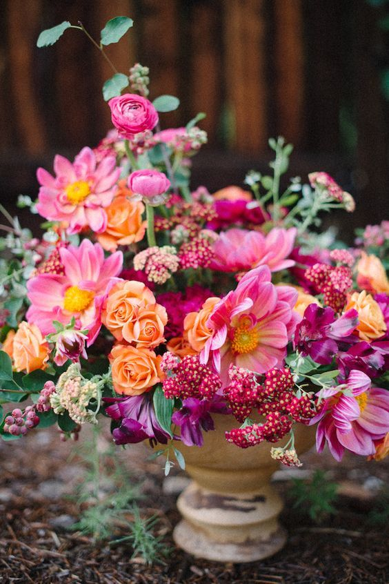 Best spring floral trends images on pinterest