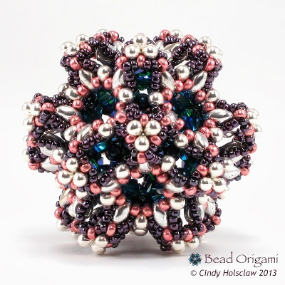 Bead Origami: Cosmic Dodecahedron