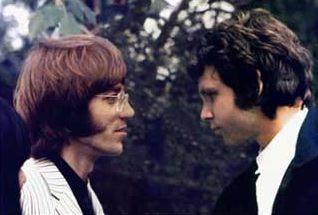 The Doors' Ray Manzarek and Jim Morrison