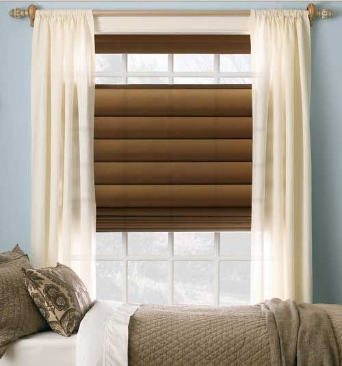 Levolor® Roman Shades: Room Darkening Solids | Roman, Room