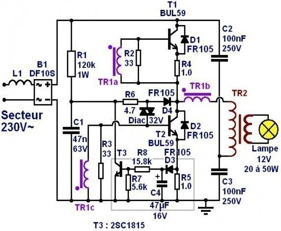 transformateur electronique 12v introduction 5 | Electronic