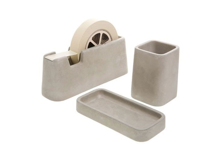 Areaware - Concrete Desk Set