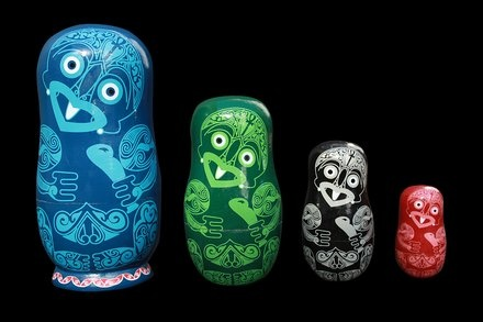 Tiki Babushkas - I am loving these!