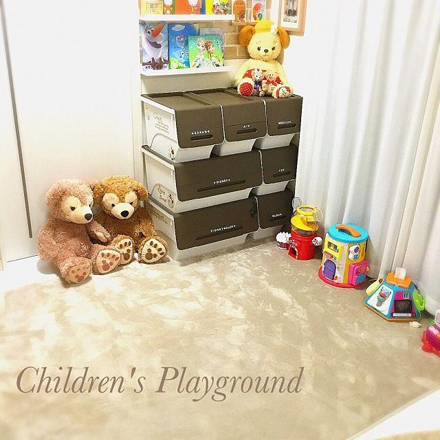 おもちゃ収納のアイデアとコツ53選 インテリア 収納 収納 アイデア 子供部屋のアイデア