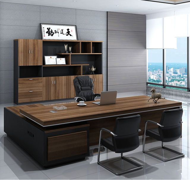 Source High Quality Mesa Oficina Luxury Commercial Furniture Office Standing Table Unique E In 2021 Office Table Design Office Furniture Layout Office Furniture Design