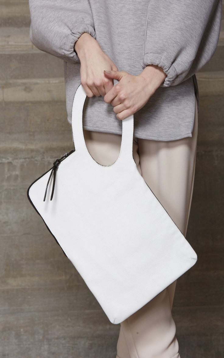 Loop Clutch Bag - chic style, minimalist handbag // Rachel Comey