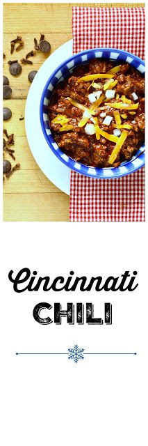 Cincinnati Chili has a touch of chocolate and sherry vinegar. What a great change from TexMez! www.thisishowicook.com #chili #Cincinnatichili  #soup