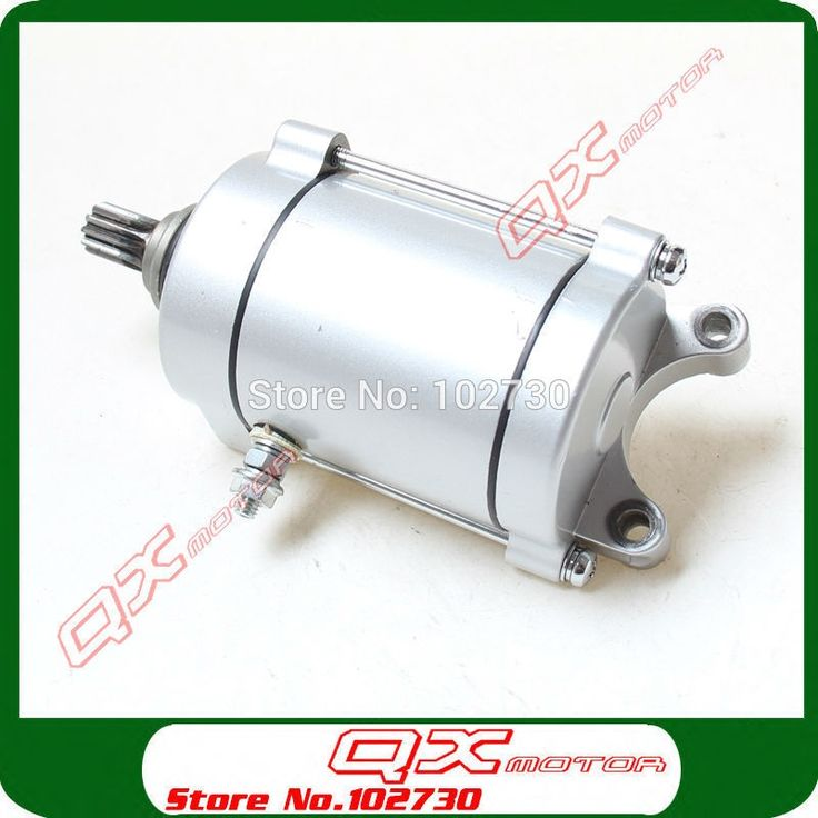 68.88$  Buy here - http://ali58y.worldwells.pw/go.php?t=32361377650 - Zongshen loncin Shineray lifan CG250 Air Cooled Cooling Engine 11T Electric Starter Motor for ATV Quad motorcycle 68.88$