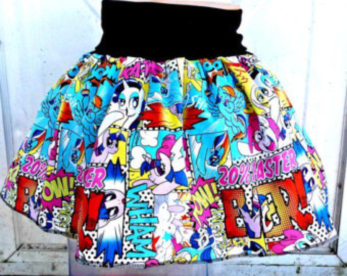 Camisa de mi falda al Pony del cómic MLP RAinbow Dash Pinkie Pie Twilight Sparkle de S-XL