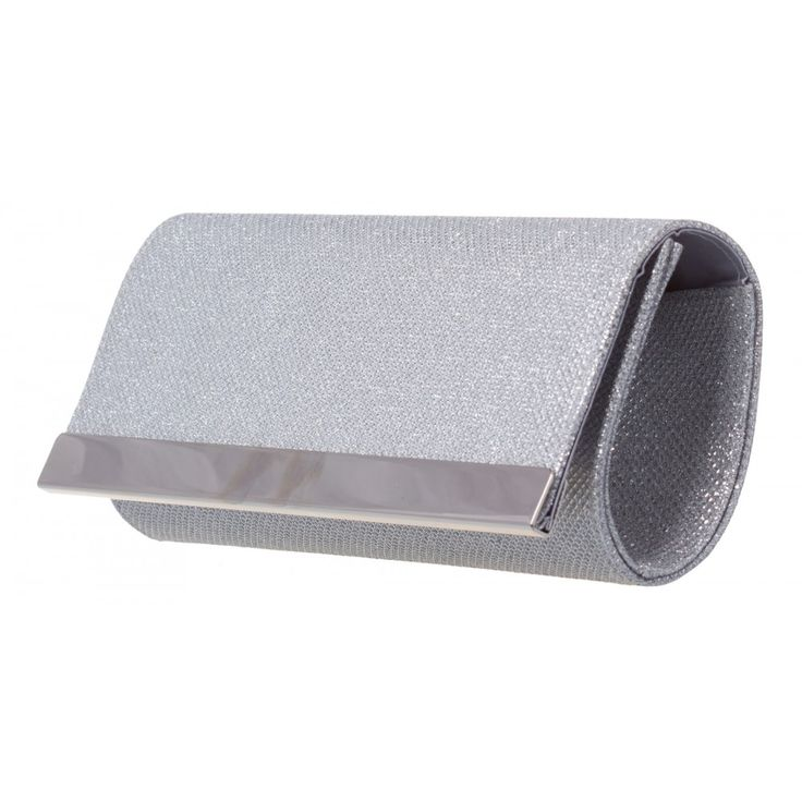 Erin Metal Detail Clutch in SILVER #21845 - colette by colette hayman