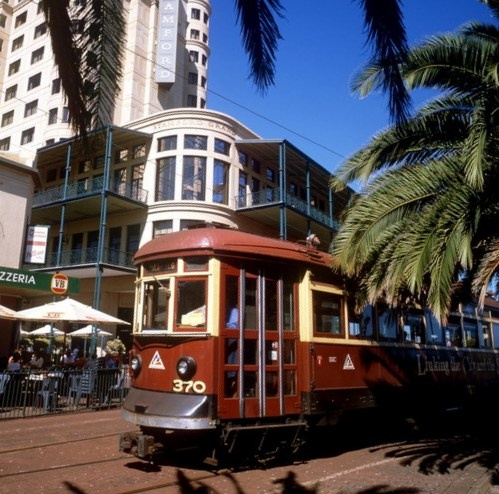 'Historical Trams of Adelaide M <3' • the 'red rattler' tram at Mosely Square Glenelg • South Australian icon • Adelaide's icons