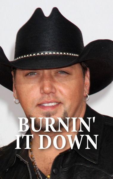 """Jason Aldean played his new song """"Burnin' It Down"""" off his new album Old Boots, New Dirt on Ellen. http://www.recapo.com/ellen-degeneres-show/ellen-music/ellen-whos-bushes-jason-aldean-burnin-performance/"""