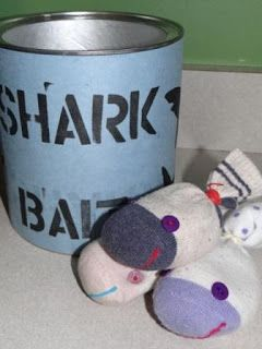 DIY Shark Party Game by Because I Said So (and Other Mommyisms)