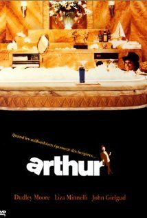 Arthur (1981) Steve Gordon's comedy has aged sweetly.  I still enjoyed it—it has some great lines, and first rate work from the three leads, Dudley Moore, John Gielgud and Liza Minnelli.  Geraldine Chaplin and Anne De Salvo also stand out.    A good airplane movie choice.