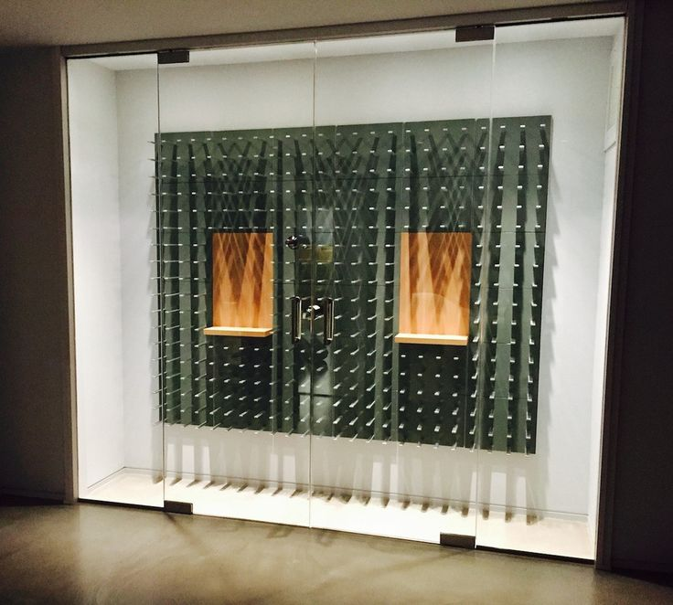 Wall-mounted Wine Rack System - Gunmetal Gray | STACT - STACT Wine ...