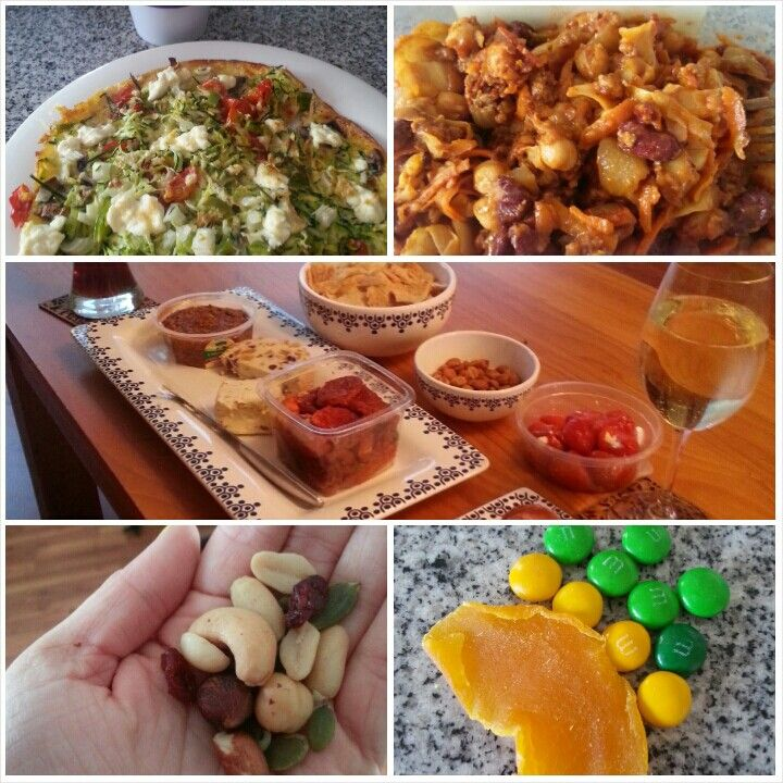 6 Feb 15 B: omelette L: spicy mince and cabbage D: cheese and nibbles board and 2 ciders S: m&ms, handful nuts, Greek yogurt with fruit