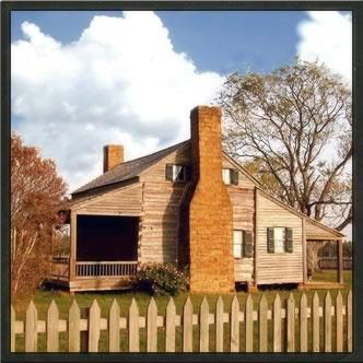 the Garrett House in San Augustine, TX