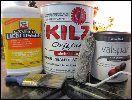 3 products for painting cherry furniture