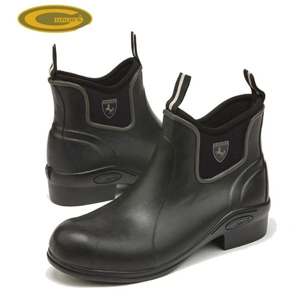 Grubs Outline 5.0 Jodhpur Horse Riding Boots in Black is the ankle high version of the Grubs Rideline boots.