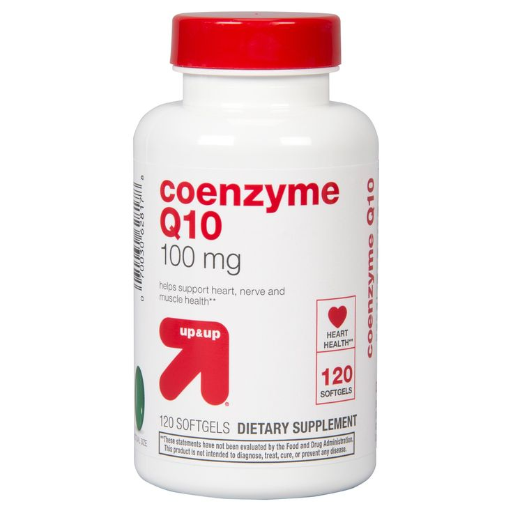 Coenzyme Q10 Dietary Supplement Softgels - 120ct - up & up