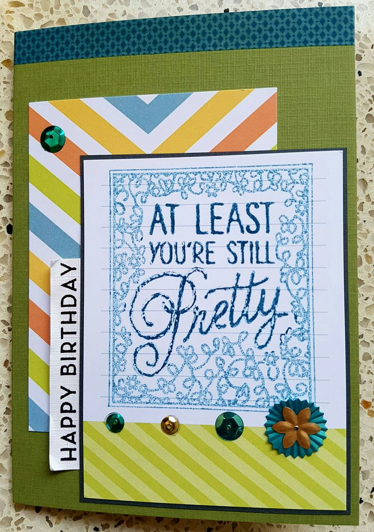 Verjaardagskaart, Birthdaycard, stampinup products. Big on birthdays stampset. Project life cards.