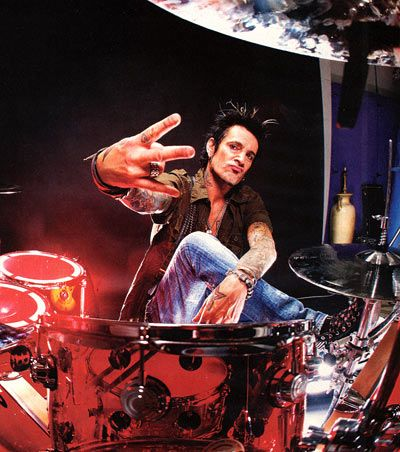 Tommy Lee Drummer | Tommy Lee Pictures | Famous Drummers