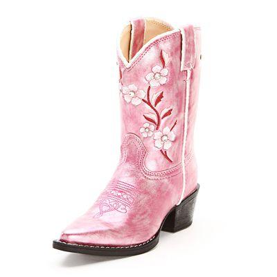 24 Pairs of Kid's Cowboy Boots | Horses & Heels