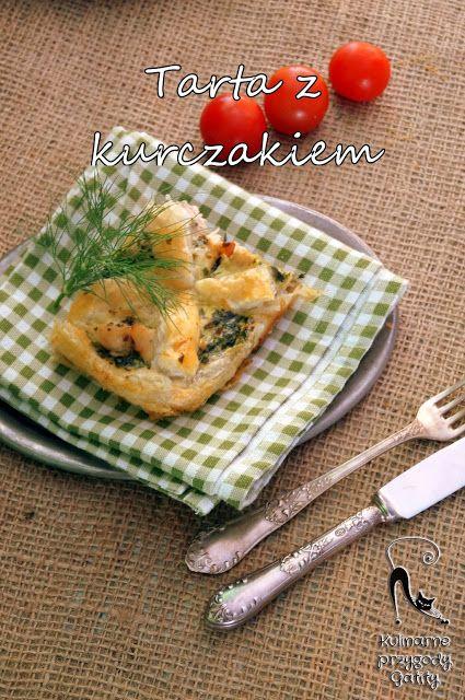 Kulinarne przygody Gatity: Tarta ze szpinakiem i kurczakiem