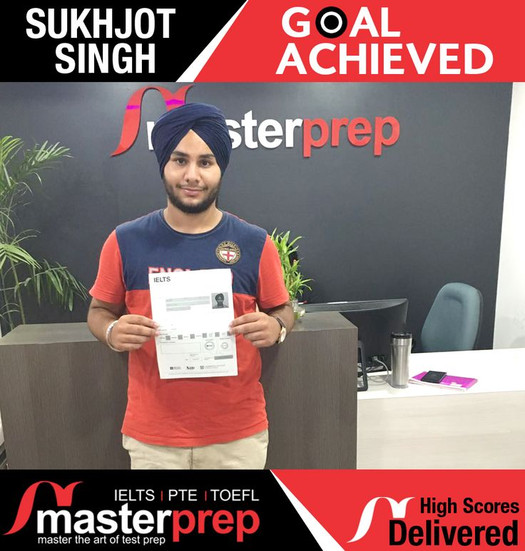 Expert team of #EnglishTrainers at #MasterPrep does it once again - one more student helped in scoring higher band in #IELTS! Exclusive English training batches for #TOEFL and #PTEAcademic as well. Register now to improve your scores in English proficiency tests. www.masterprep.in