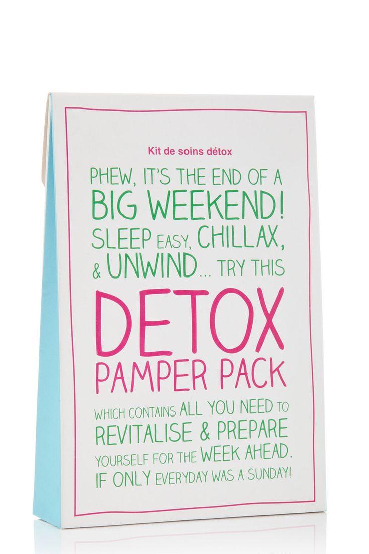 Detox Pamper Pack | boohoo