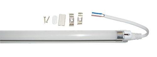 $54.99-$74.99 T5 High Brightness 16 watt Tube light with fixture Color: Warm White - Comparable to a 45 watt T5 fluorescent tube light  http://www.amazon.com/dp/B003JK2ILM/?tag=pin2wine-20