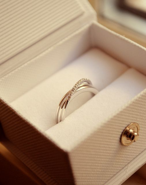 """Another pinner said, """"My beautiful promise ring �"""" - very pretty!"""