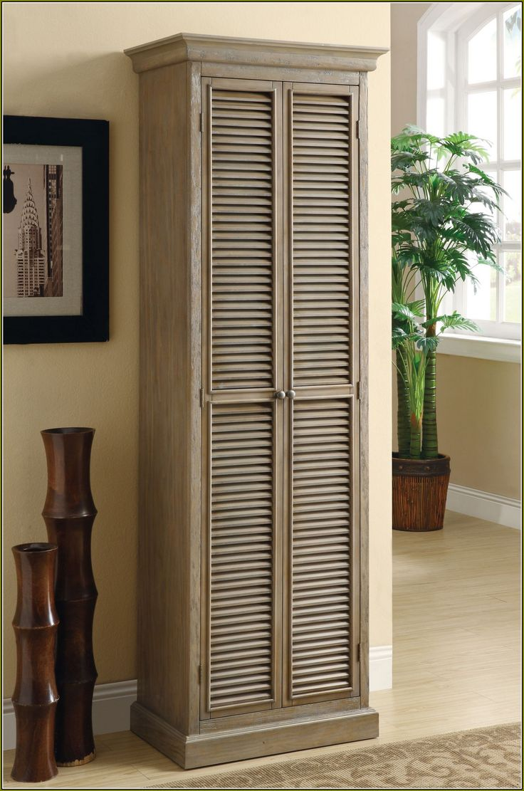 Tall Storage Cabinets With Sliding Doors Wood Storage