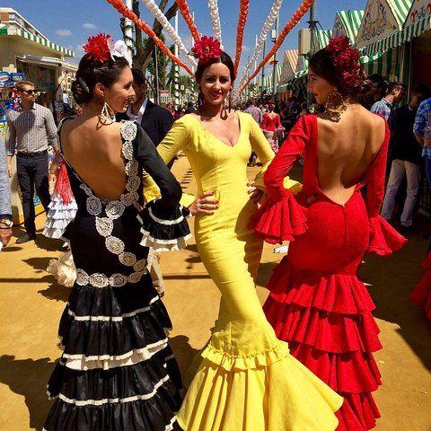 Seville Feria de Abril (Spring Fair) Instagrams