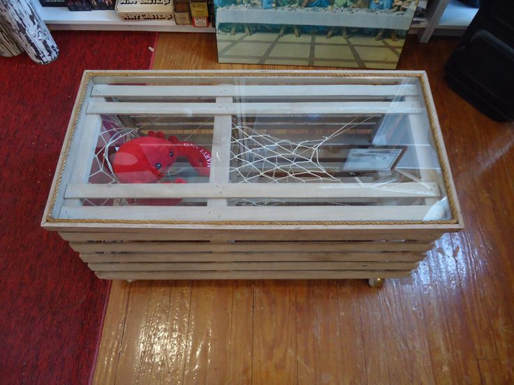 9 best Lobster trap table images on Pinterest | Lobster trap, Coffee tables and Low tables
