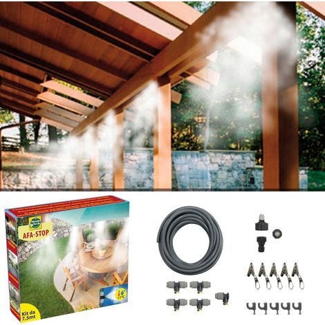 Kit nebulizzatore ad acqua 7.5mt IRA01 - Giardino, piscina