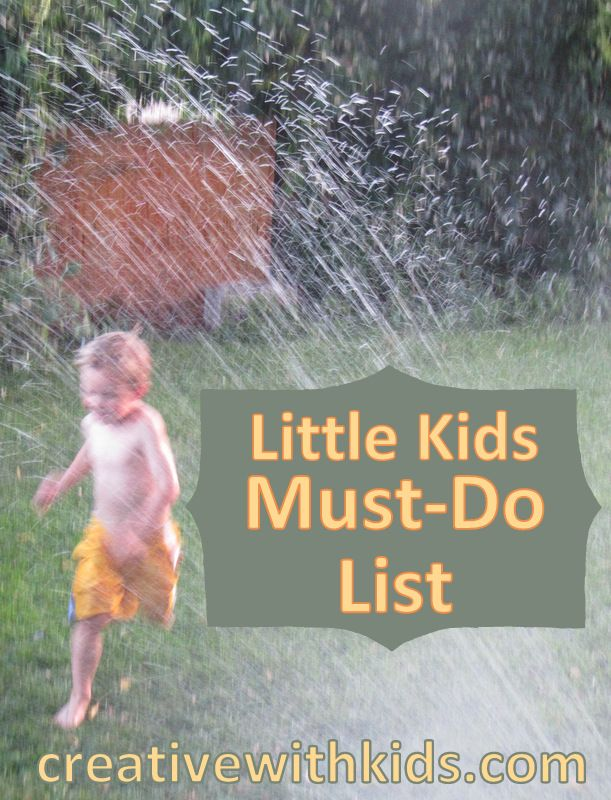 A big list of simple activities that are SUPER Fun with 4-6 year olds.