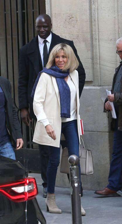 Brigitte Macron quitte l'école Sciences Po le 24 avril 2017