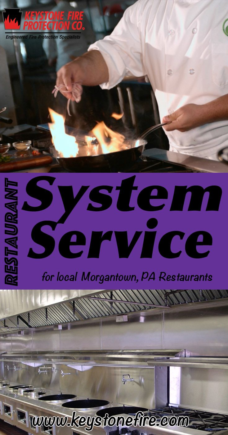 Restaurant System Service Morgantown, PA (215) 641-0100 This is Keystone Fire Protection.  Call us Today for all your Fire Protection needs!Restaurant System Experts are standing by...