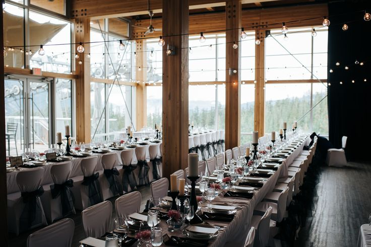 Rustic venue sea to sky gondola reception We loved the rustic look to the Venue. We think its one of the best Squamish has to offer.
